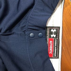 Under Armour Pants - Womens Size Small Under Armour Softball Navy Pants